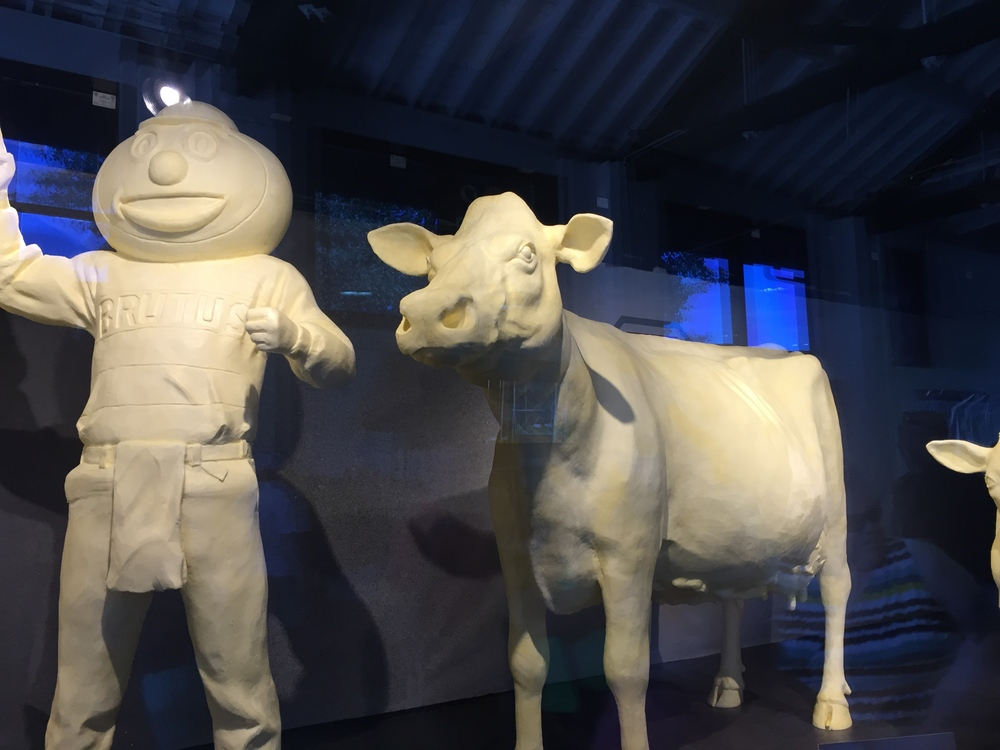 Butter Cow & Brutus