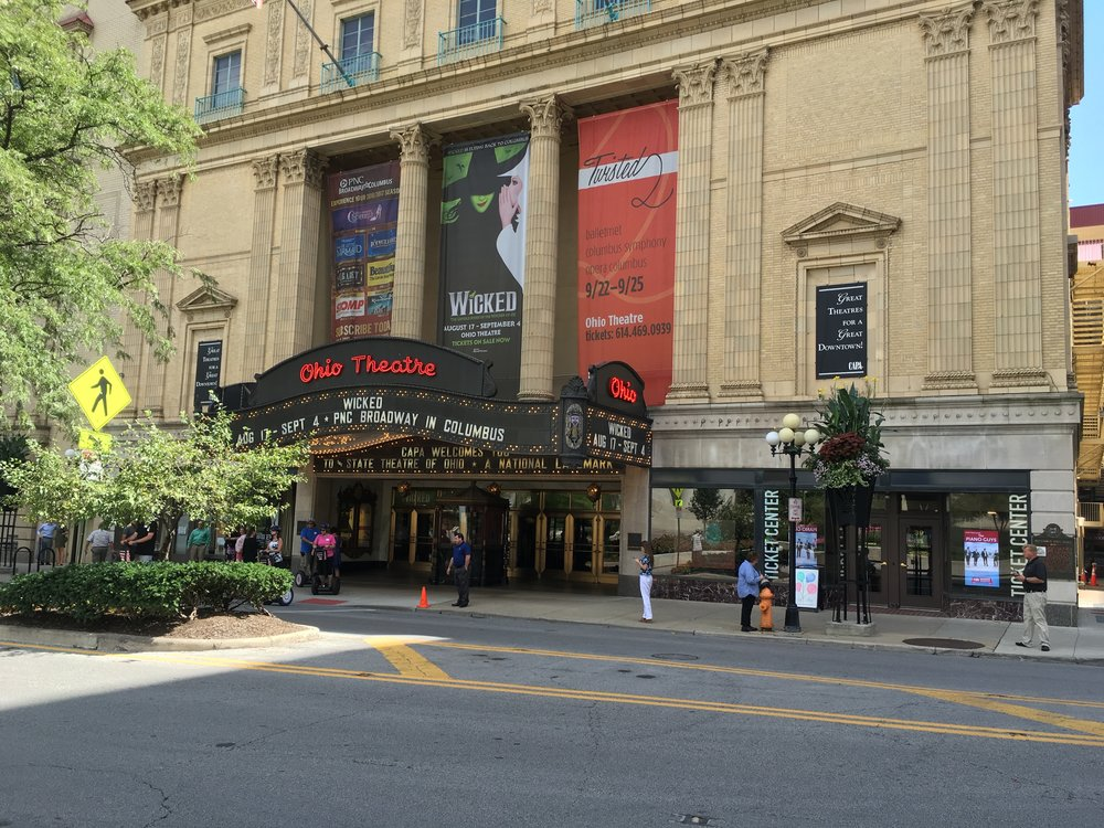 Wicked the Musical at the Ohio Theatre