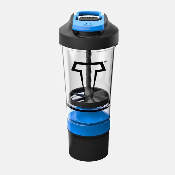 TITAN Mixer Bottle - Poseidon Blue