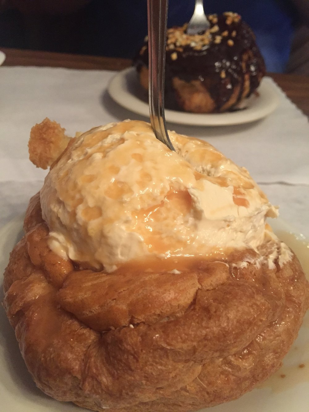 Cream Puff flavor of the month - Salted Carmel!