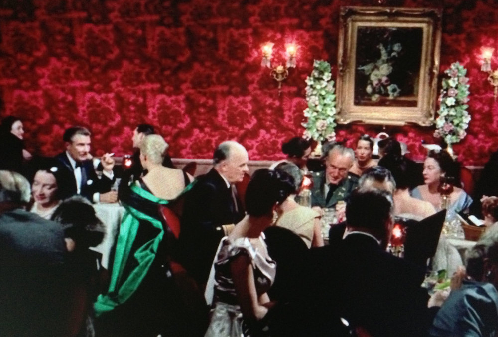 We see the use of the complimentary relationship of RED and GREEN used here in Alfred Hitchcock's 'Vertigo'.
