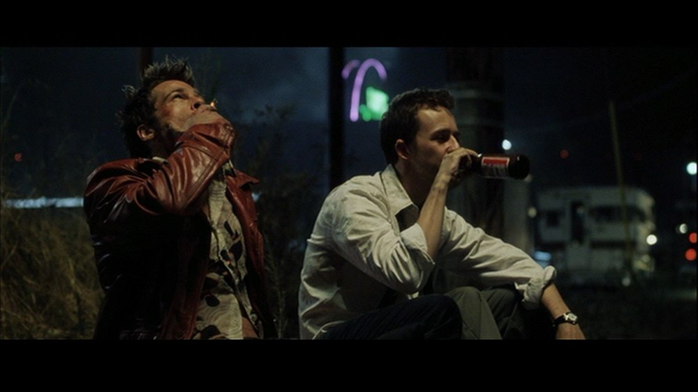 Fight Club (1999) managed the seemingly impossible balance between hiding information on a first viewing and shoving it in your face on a second viewing (you know what I'm talking about).
