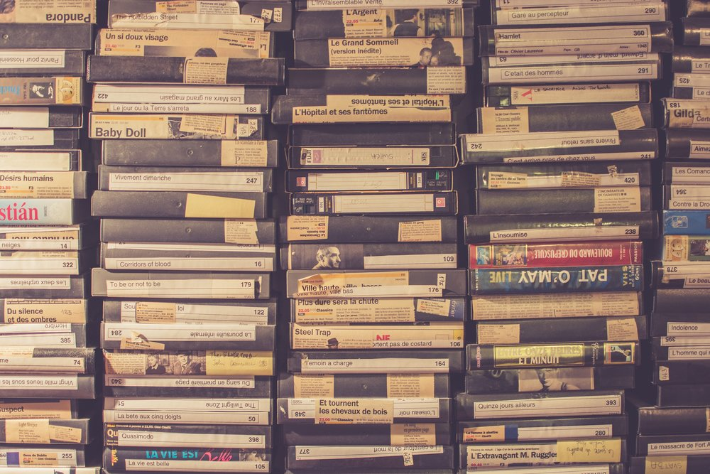 You may have work that takes a little effort to view again. It's a good idea to update formats of older projects so you can continue to enjoy them. There are many options to convert old film reels and VHS tapes to digital formats.