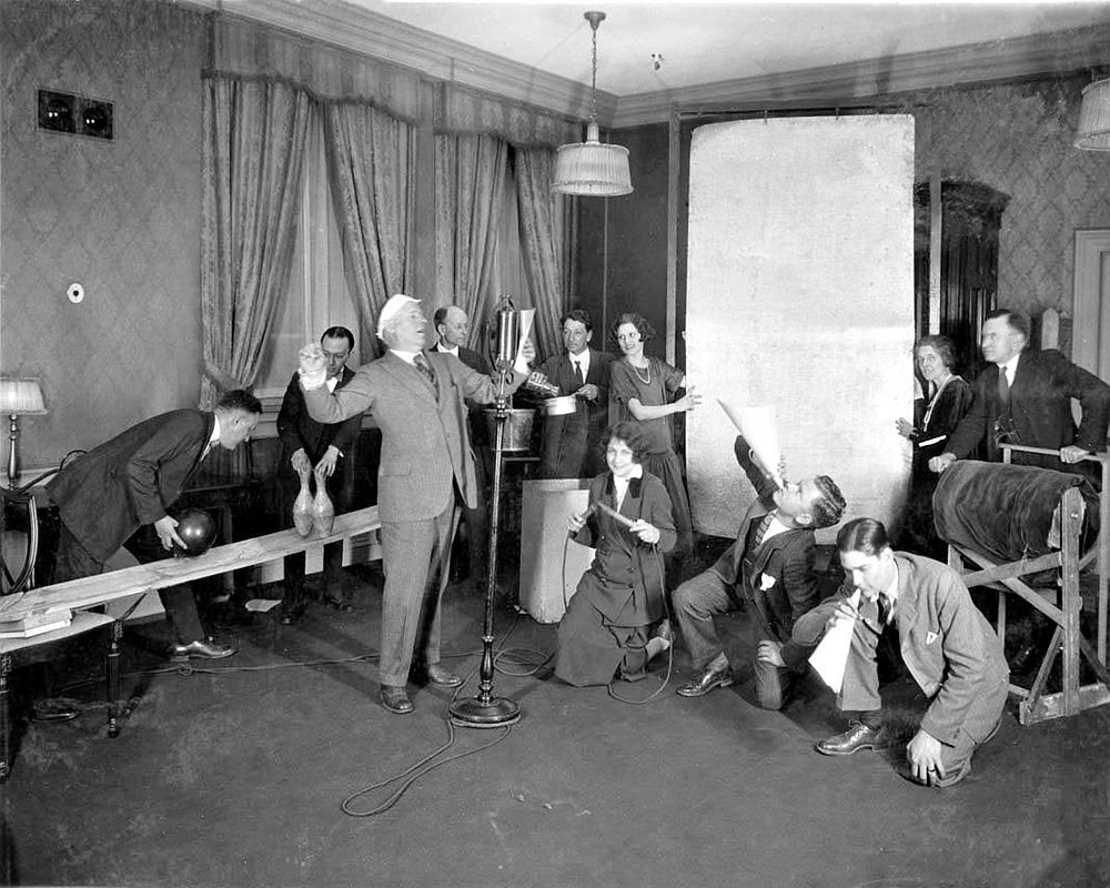 WGY Sound Effects, 1920s
