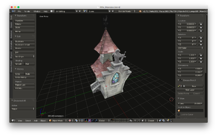 How to import a 3D model from Blender? — Harold Serrano