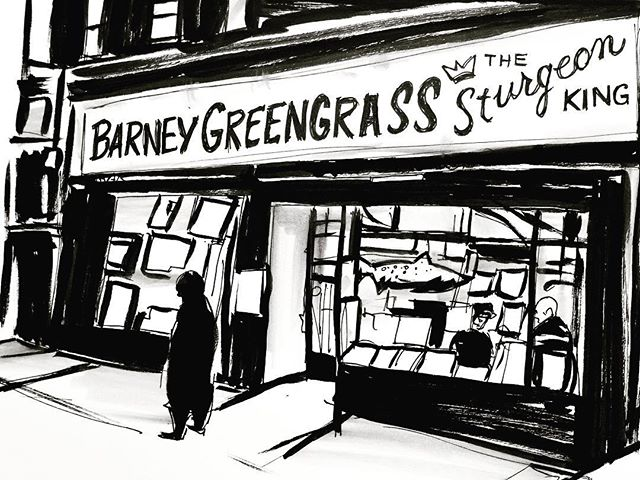 Day 23. #sketch #sketchbook #inktober #inktober2017 #drawings #drawing #ink #inkonpaper #illustration #nyc #urbansketch #barneygreengrass