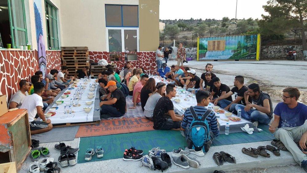 Iftar Dinner at OHF