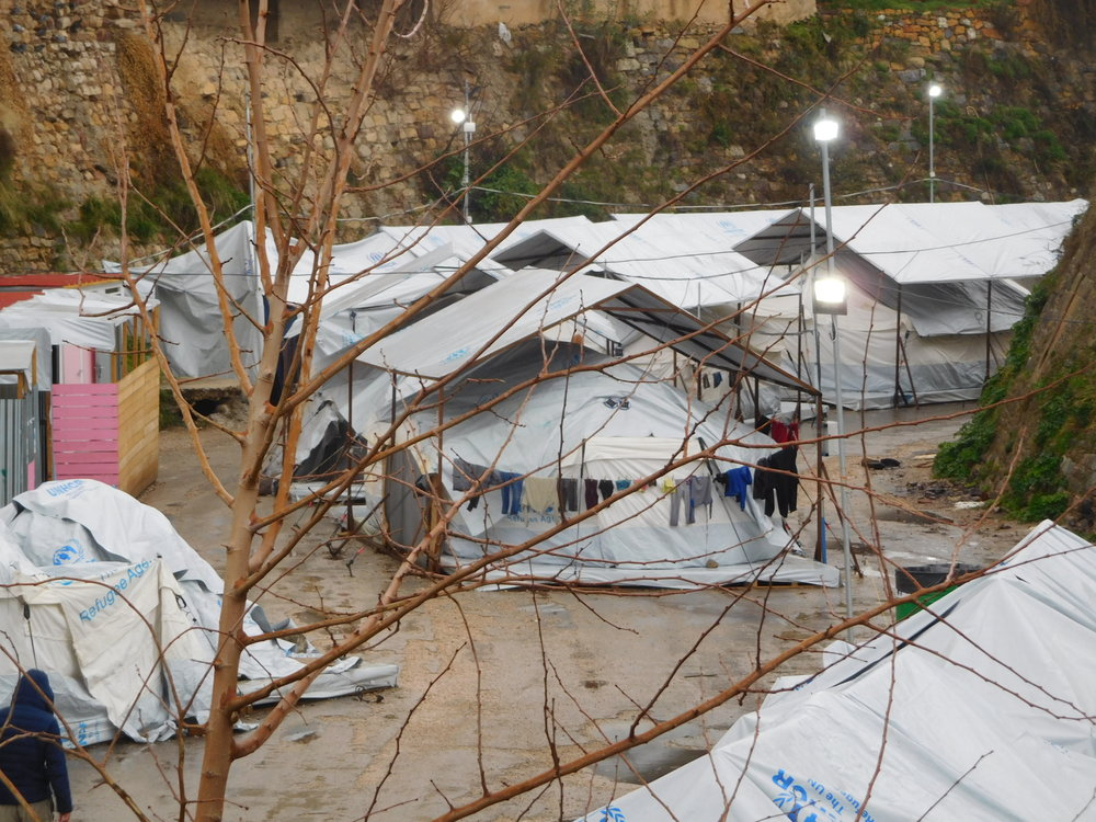 Souda Refugee Camp, Chios Island, Greece