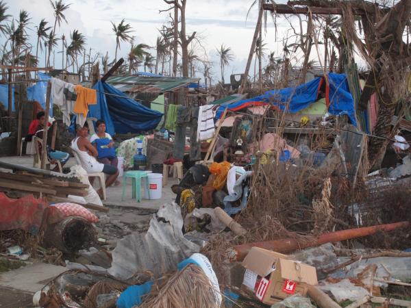 Devastation, Typhoon Yolanda, Philippines