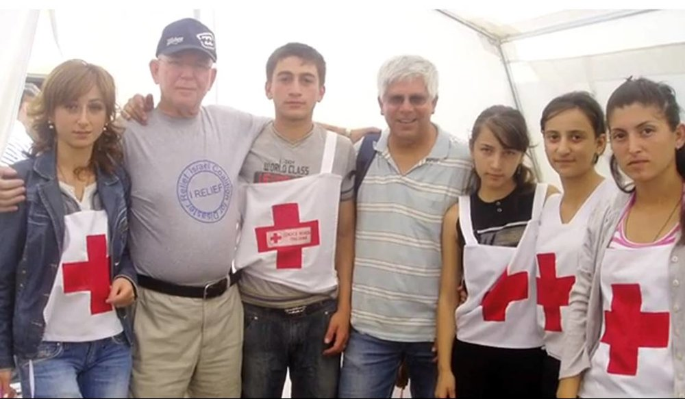 Georgia, Aid to Internal Refugees 2008