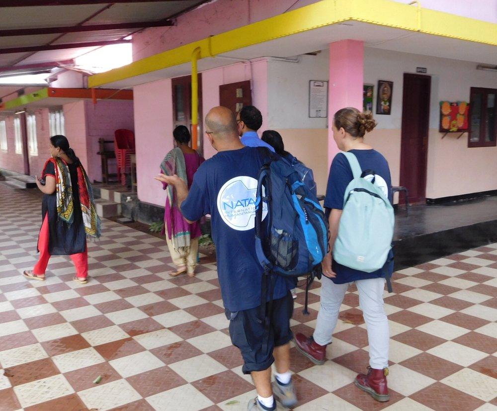 Visiting a School
