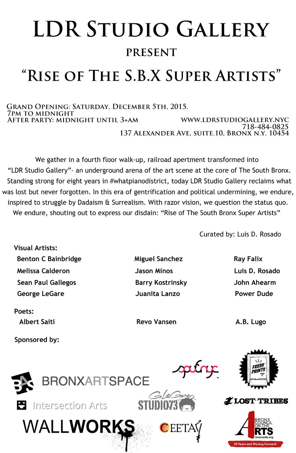 Rise of The S.B.X Super Artists PostCard.jpg