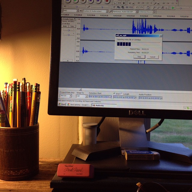 My side of Episode 0 is recorded and is processing now! Next step: off to @robfanguy for post.