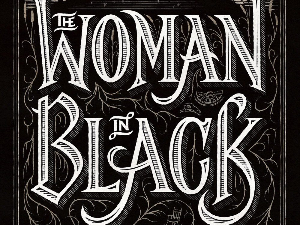 The Woman In Black. Book Cover
