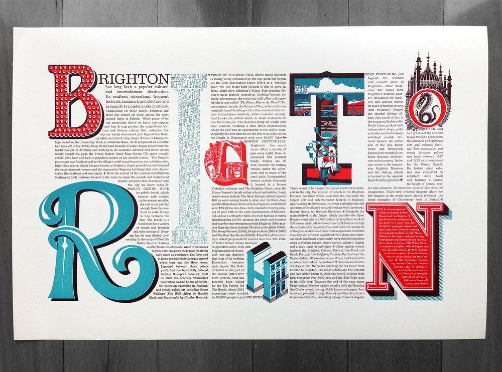 The final letterpress print