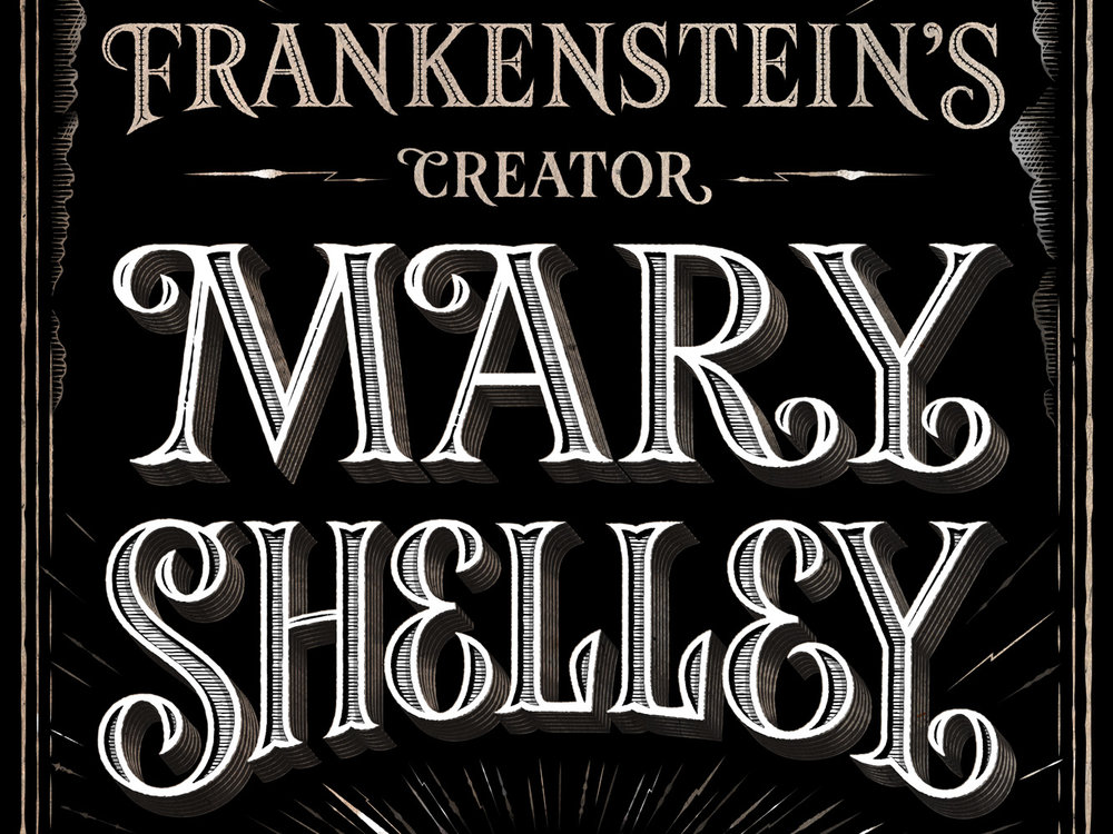 Mary Shelley. Book Cover