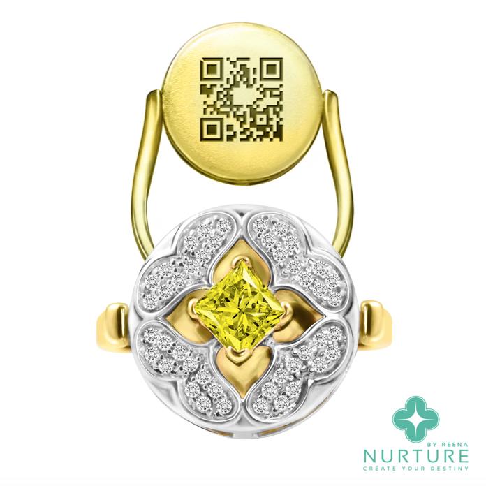 Galium ring_NurtureByReena_ReenaAhluwalia_Lab-GrownDiamonds_yellow