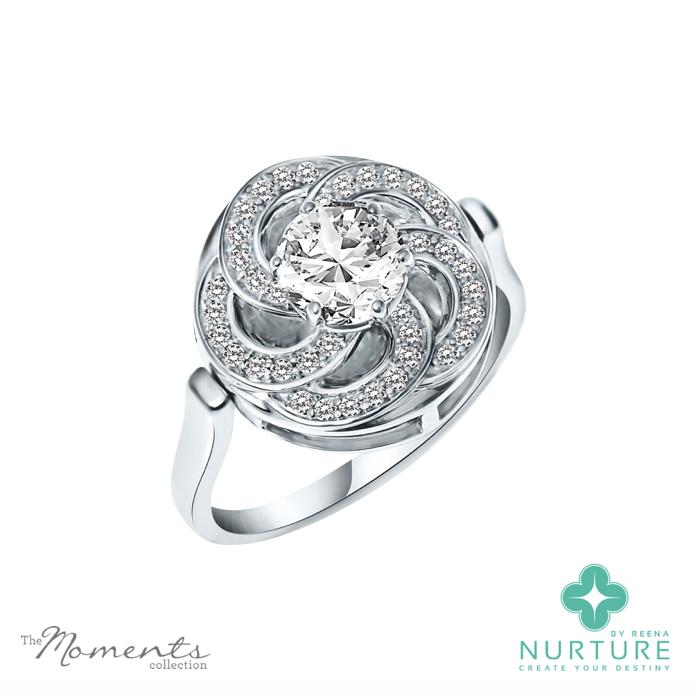 Wildflower_NurtureByReena_ReenaAhluwalia_Colorless_Lab grown diamonds