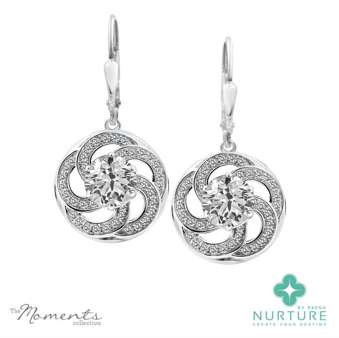 Wildflower earrings_NurtureByReena_ReenaAhluwalia_Colorless_Lab-Grown Diamonds
