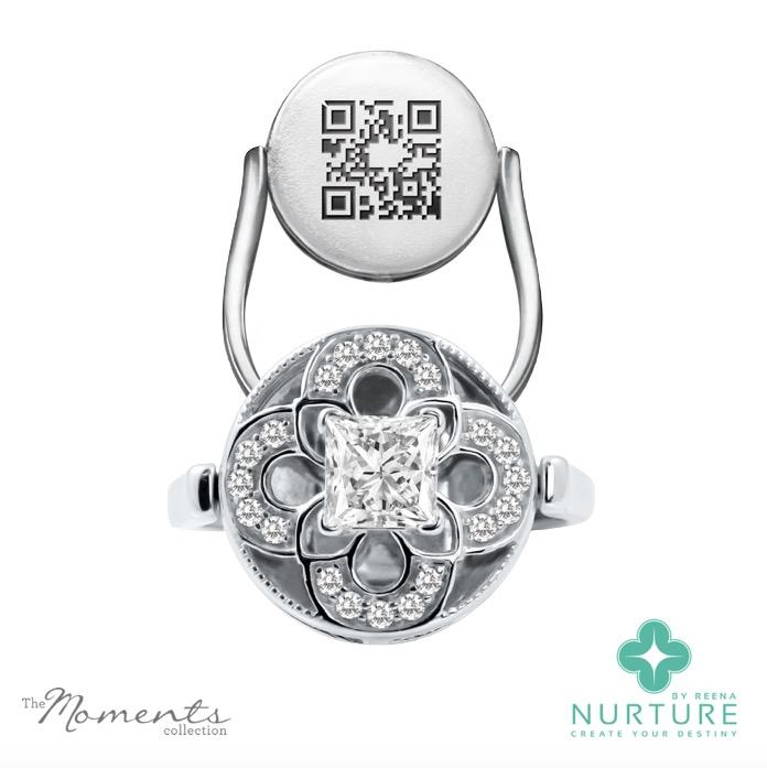 Cardamine ring_NurtureByreena_ReenaAhluwalia_Colorless lab-grown diamonds