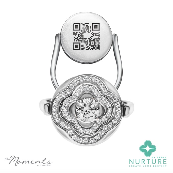 Primrose ring_NurtureByreena_ReenaAhluwalia_Colorless lab-grown diamonds