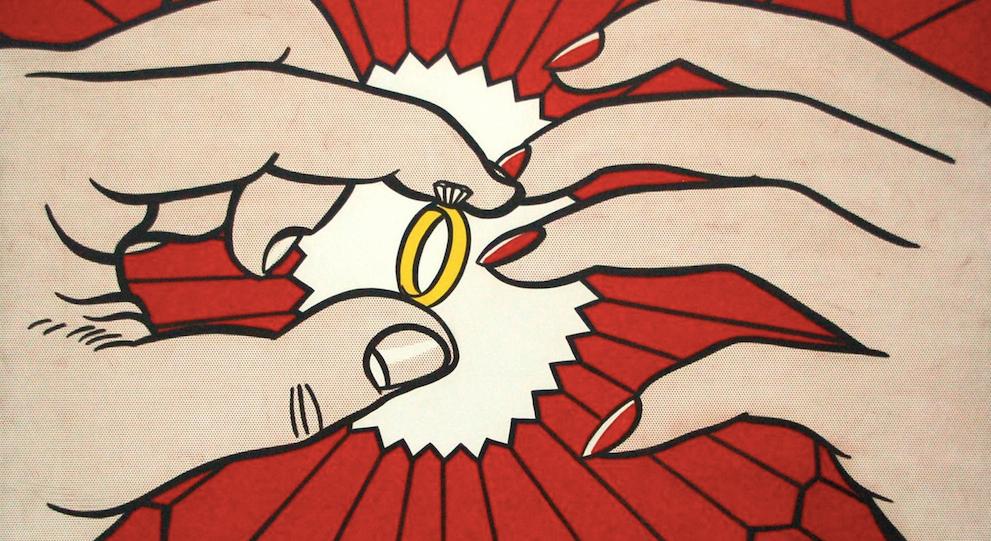 roy lichtenstein ring