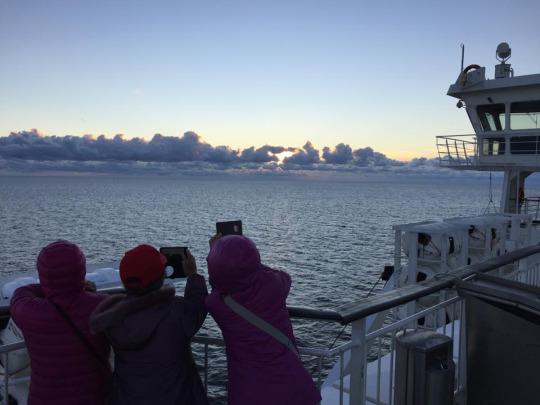在波羅的海上看過日出日落,你就會知道為甚麼有錢人們都嚮往加勒比海的郵輪之旅了