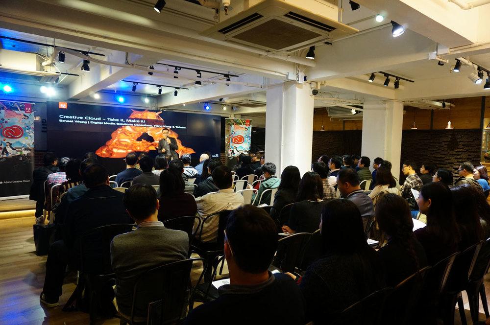 Adobe 數碼媒體技術工程顧問 - Ernest Wong