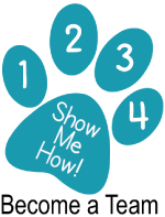 Click here to find out how to become a Project Canine therapy dog team.