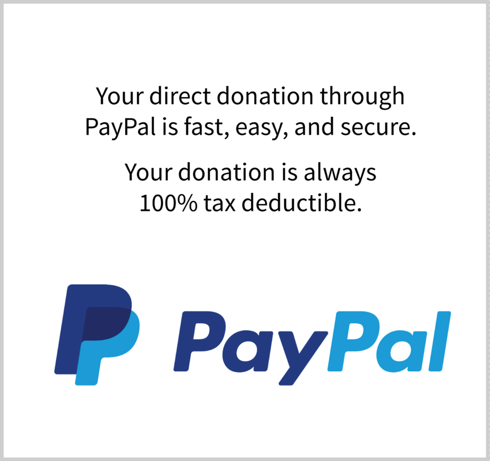 Click here to make a donation through PayPal.