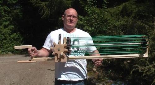 Joerg Sprave, the slingshot guy.
