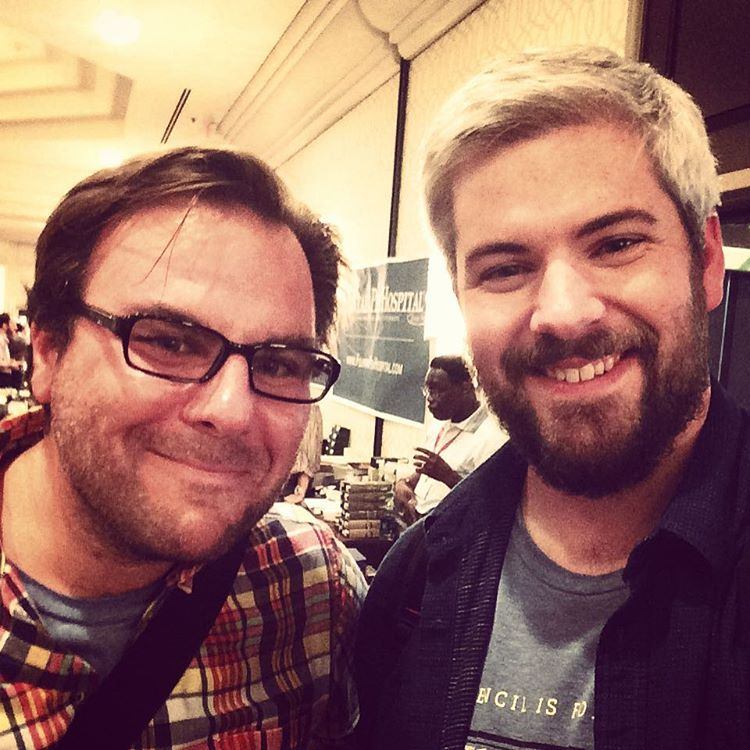 Johnny and Tim finally meet at the DC Pen Show!
