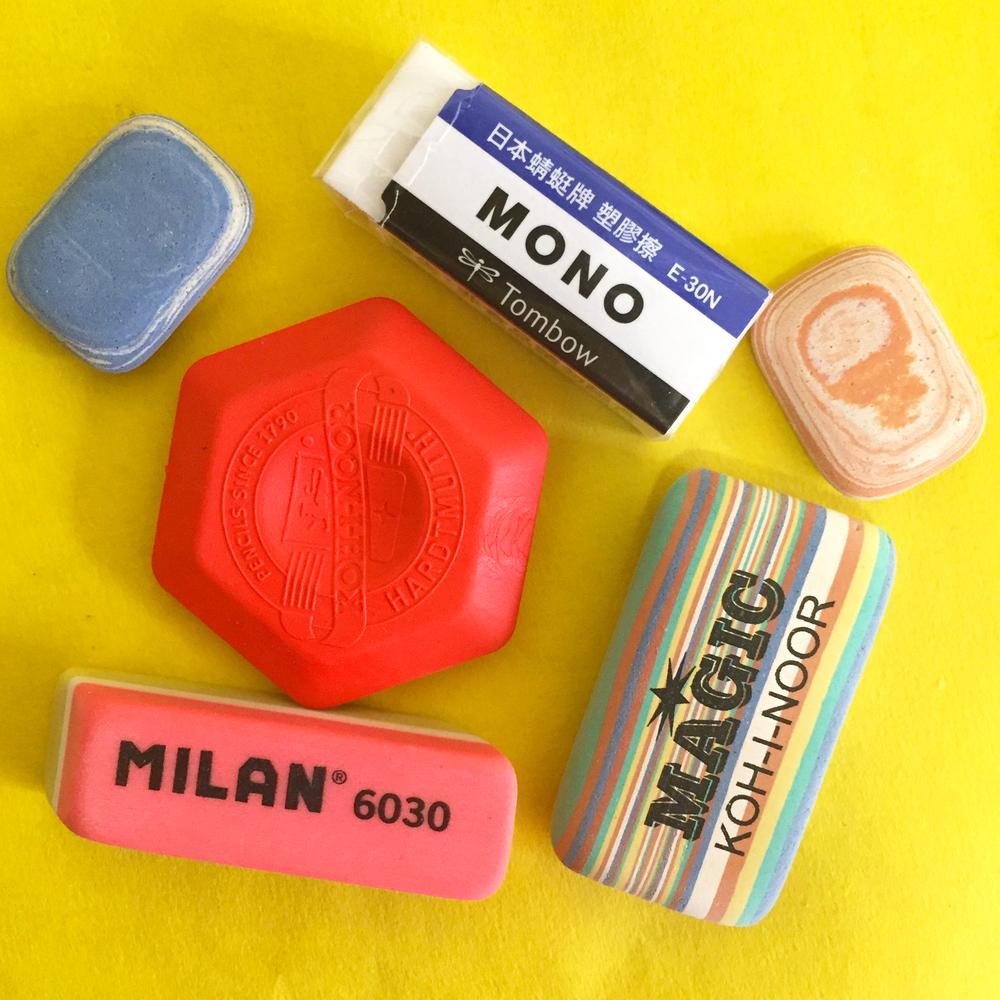 The Erasable Eraser Pack. $4.50 at CW Pencils through June 20.