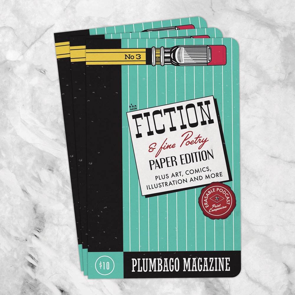 The cover concept for  Plumbago Magazine : Issue 3