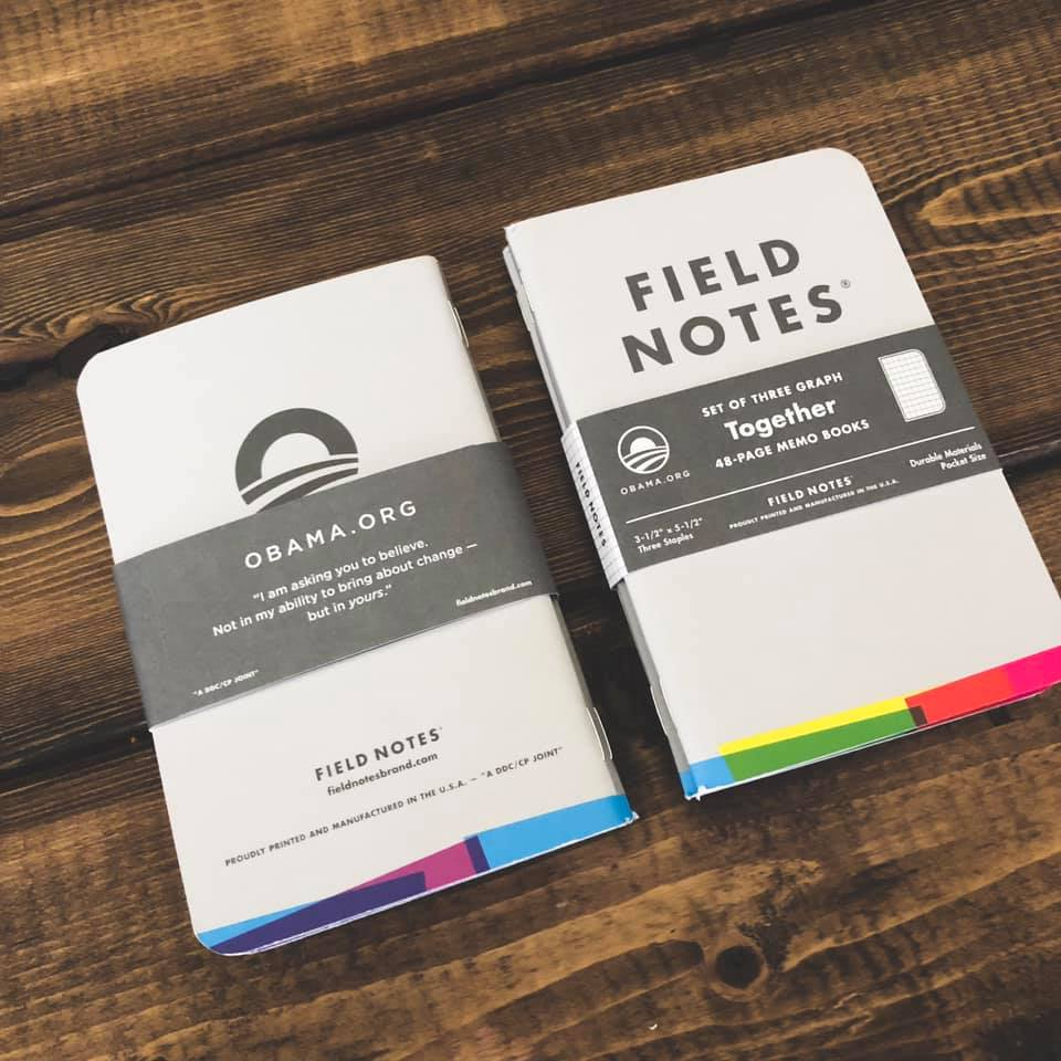 In Fresh Points, Andy talks about trading for a rare pack of Obama Field Notes.