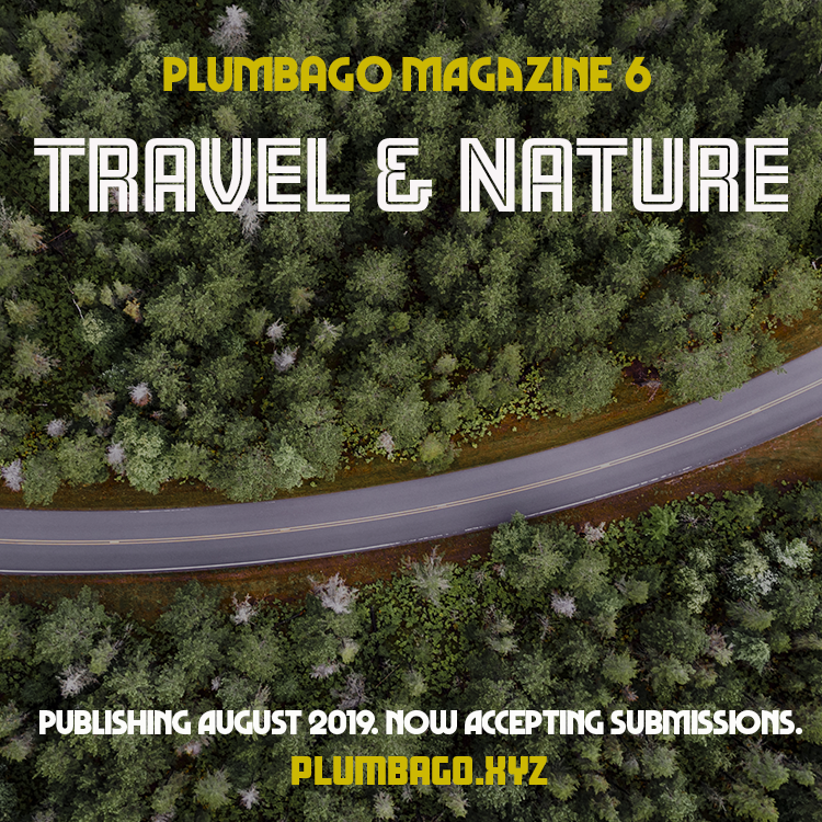 Announcing Plumbago, Issue 6: Travel and Nature  Now