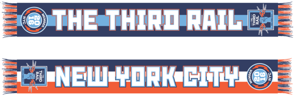 2016 Third Rail Members Scarf