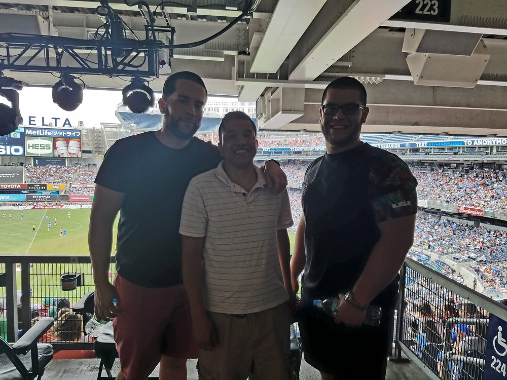 """ Thank you so much! Great seats and had a great time with my family watching the game! Very good game as well."" - US Marine Corps Serviceman"