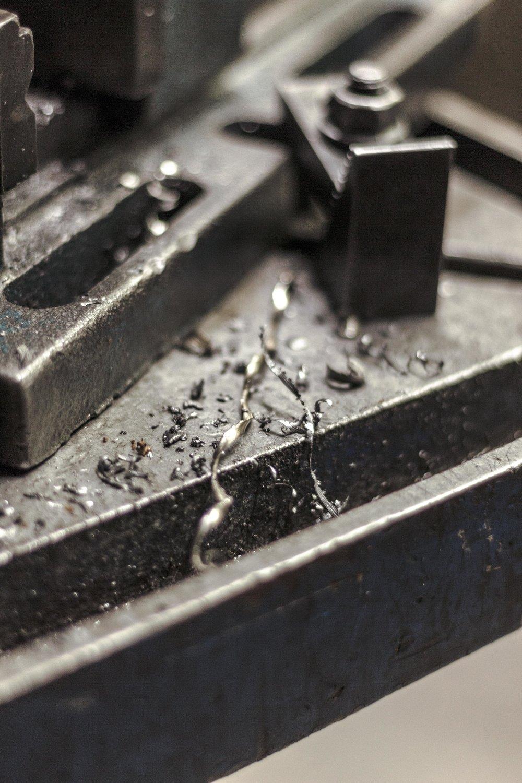 scrapes of metal