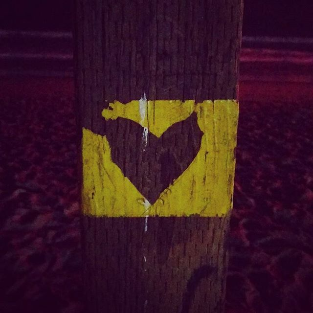Yesterday I was at the beach standing next to this pole, and when I looked up, this heart surprised me!!! HAPPY LOVE DAY TO ALL THAT DARE TO GIVE THEIR HEART TO THEMSELVES AND TO OTHERS!!! #letlovesurpriseyou