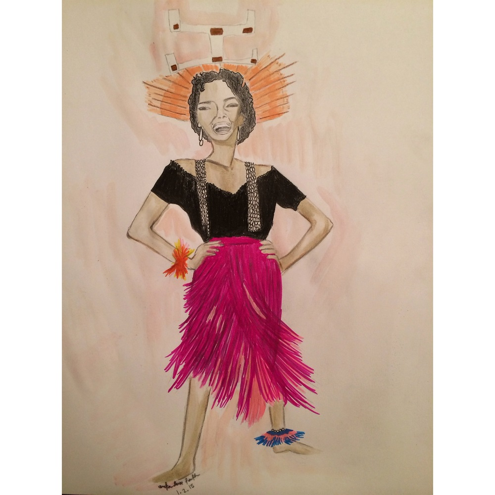 Dogon Reimagined - Dorothy Dandridge