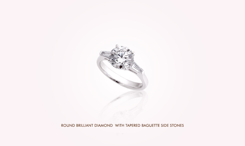 Diamond Ring with Tapper Baguette setting.jpg