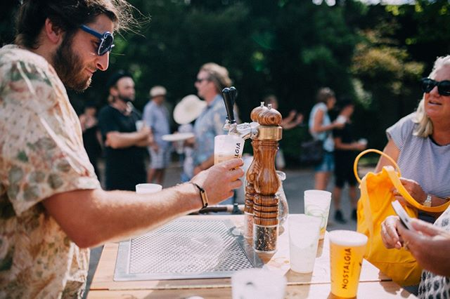 A big thank you to our friends at @casselsandsonsbrewing for their continued support over the years. You can pop into @cassels_thebrewery for a taste of their fine brew! #nostalgiafestival #craftbeer #christchurchnz