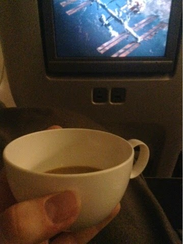 Coffee and watching Gravity