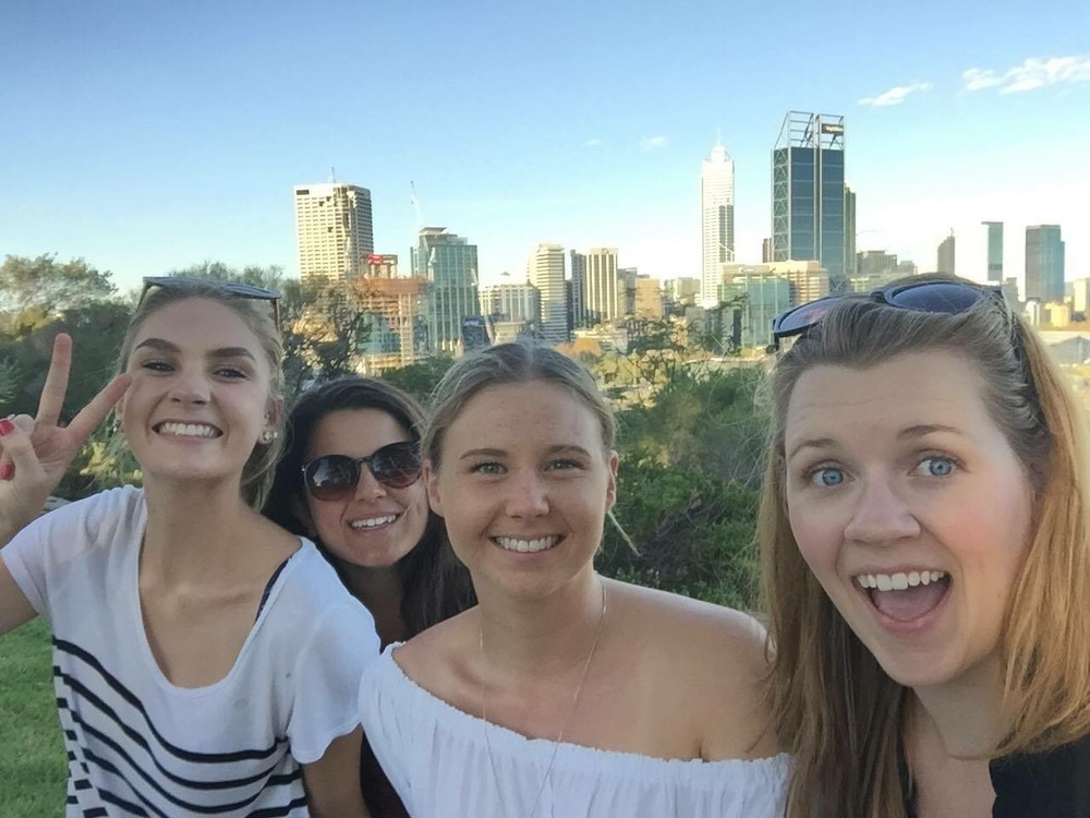 View of downtown Perth from Kings Park