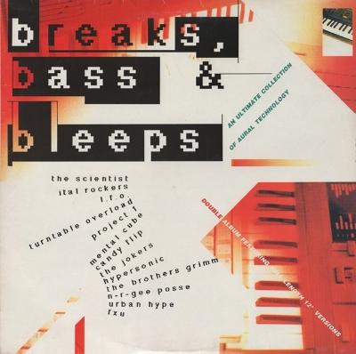 Breaks, bass &bleeps.Digital music in 1990