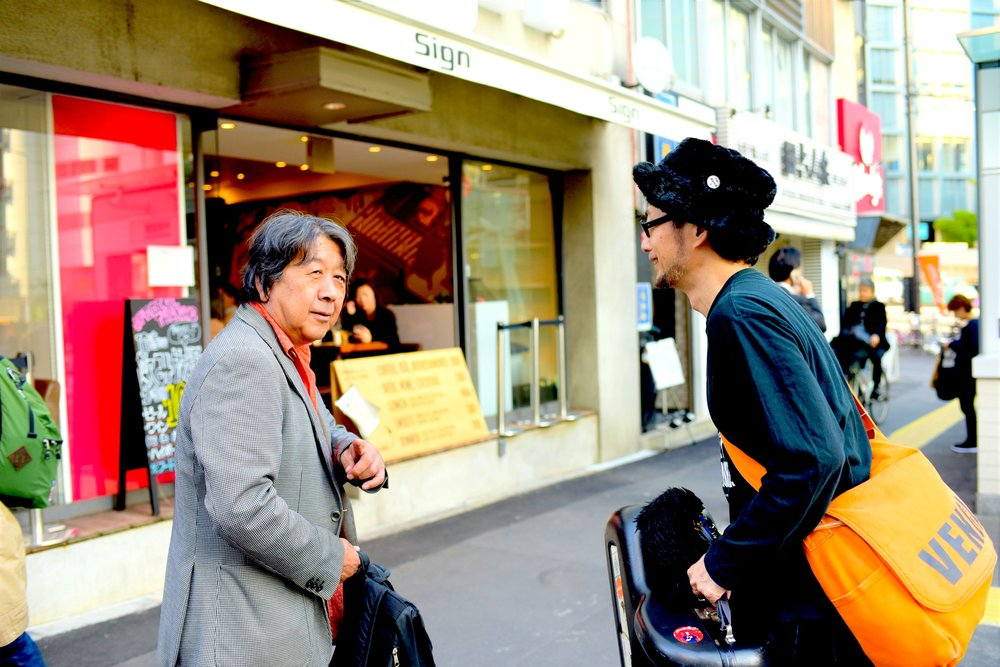 dialogue with Susumu Isshiki -