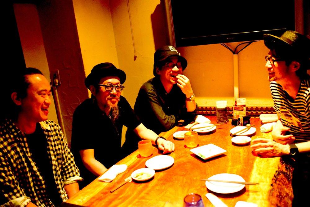 Yoichi Tsutsui, Akira Kito, Hideyuki Yamanaka, Akira Mizutani
