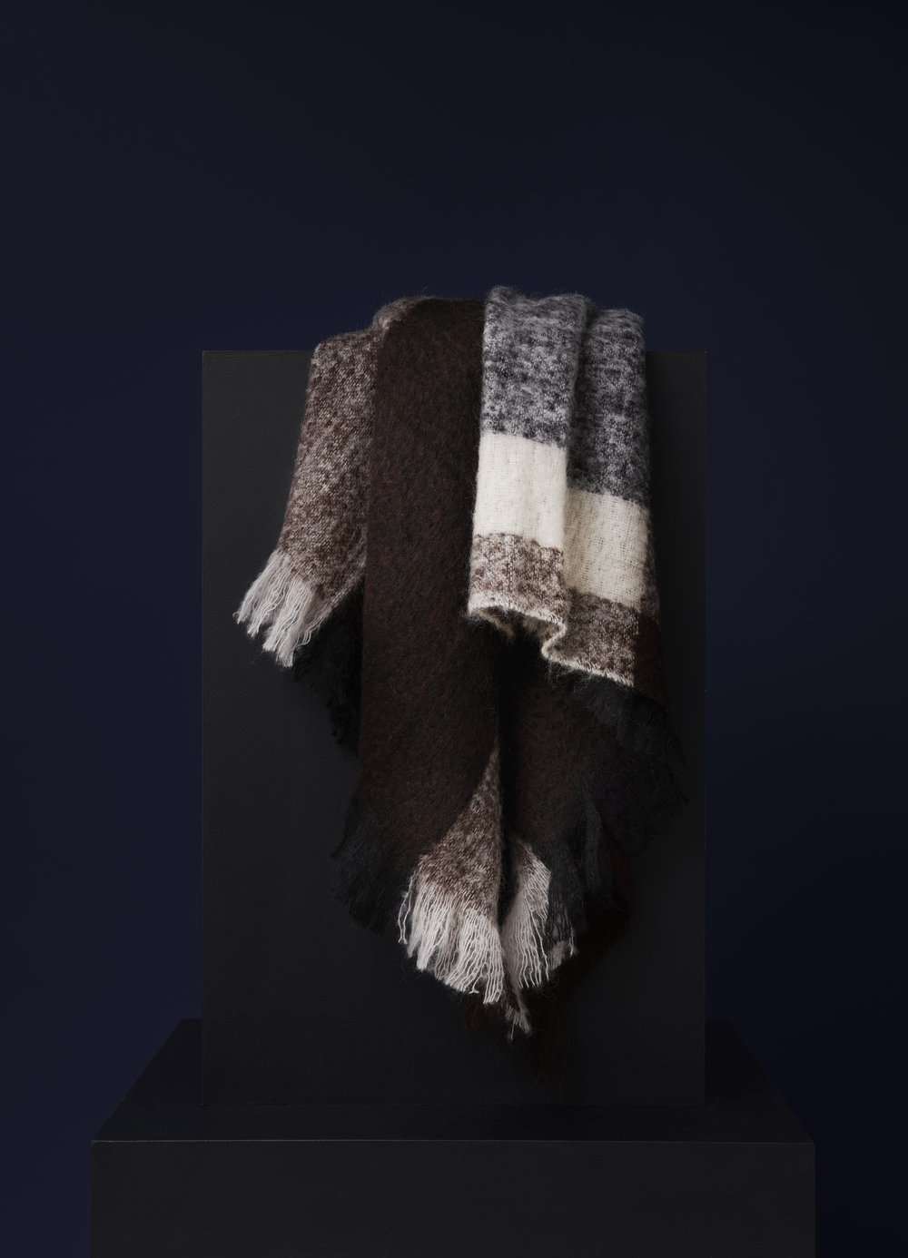Check throw design by malene birger new works for New check designs