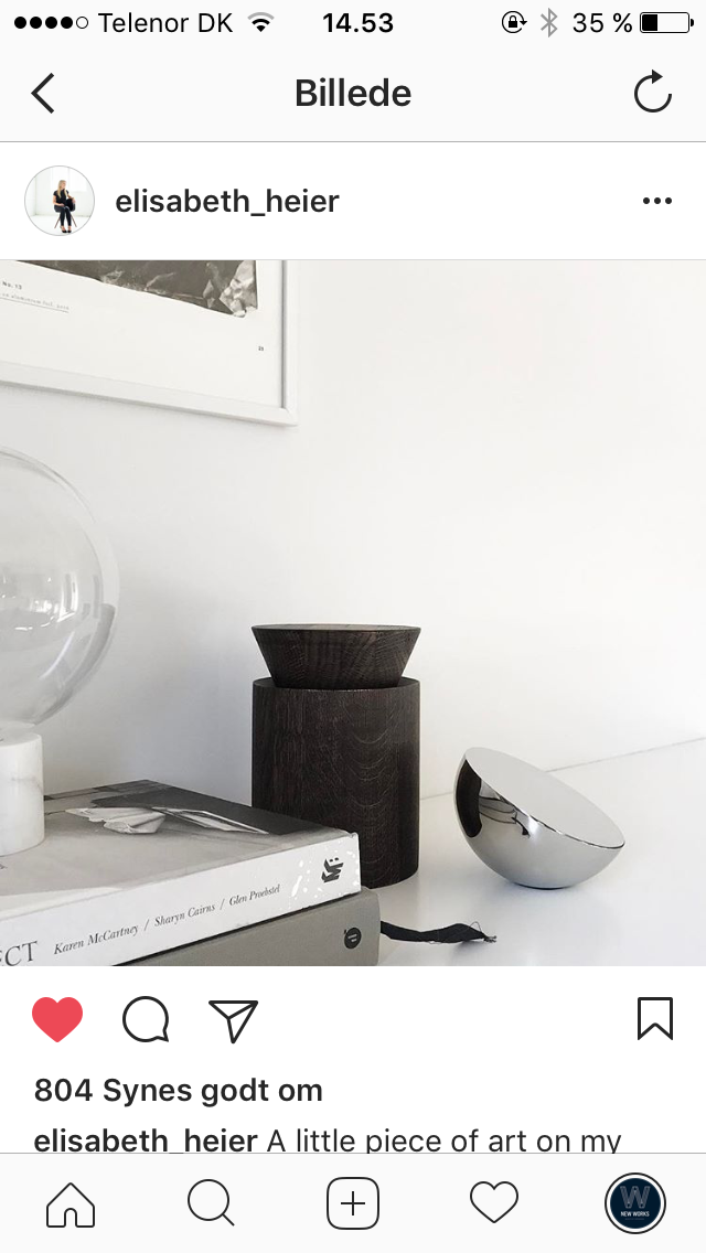 Aura Table Mirror - Stainless Steel // Photo by Elisabeth_heier